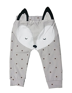 Baby Casual/Daily Print Pants,Cotton Spring / Fall Blue / Gray