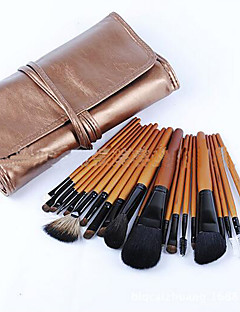 21 Makeup Brushes Set Horse Full Coverage Wood Face ShangYang