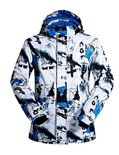スキーウェア スキー/スノーボードジャケット 男性用 冬物ウェア コットン / ポリエステル スポーツ 冬物ウェア 保温 / 防風 スキー / スケーティング / スノースポーツ / スノーボード 冬