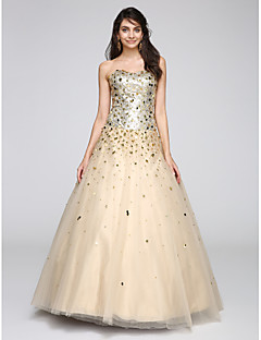 2017 TS Couture® Prom Formal Evening Dress Ball Gown Sweetheart Floor-length Tulle with Sequins
