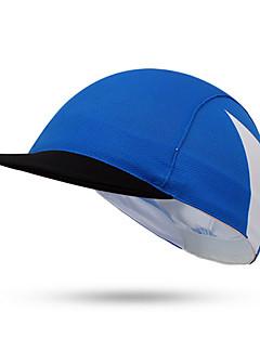 Boné de Ciclismo Chapéu Moto Respirável Filtro Solar Unissexo Azul Terylene
