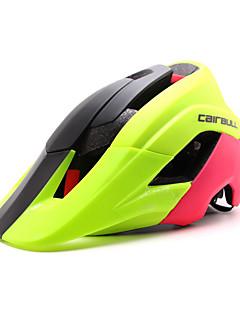Capacete(Verde / Vermelho / Preto / Azul,PC / EPS) -Cara-Total / Montanha / Estrada / Esportes-Mulheres / Homens / Unisexo 15 Aberturas