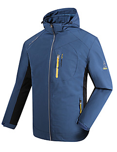 Hiking Softshell Jacket Unisex Waterproof / Breathable / Thermal / Warm / Quick Dry / Windproof / Wearable /