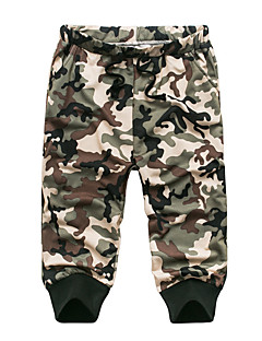 Men's Summer Green Camouflage Casual Sport Plus Size Cotton Elastic Sweatpants Short Pants