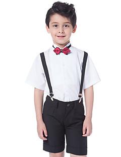 Bavlna Oblek pro mládence - 3 Pieces Obsahuje Tričko / Kalhoty / Motýlek