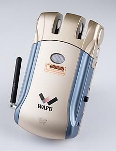 WAFU Wirelesss Smart Remote Door Lock with Keyless & Invisible Anti-theft Lock Security Door Lock with 4 Remote Keys