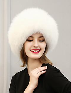 Для женщин Для женщин Винтаж / Очаровательный / На каждый день Лыжная шапочка,Искусственный мех,Зима
