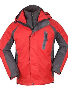 Homens Jaquetas 3-em-1 / Jaqueta de Inverno Acampar e Caminhar / Alpinismo / Esportes Relaxantes / Esportes de Neve / Snowboard
