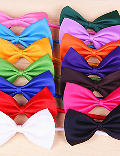 Cat / Dog Tie/Bow Tie Red / Orange / Yellow / Green / Purple / Black / White / Pink / Rose / Dark Blue / Light Blue Dog Clothes