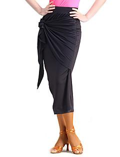 ריקוד לטיני חצאיות טוטו וחצאיות ביצועים מילק פייבר קשת (תות) חלק 1 טבעי חצאית M:79cm-80cm L:80cm-81cm