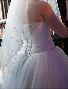 Wedding Veil Four-tier Elbow Veils Tulle