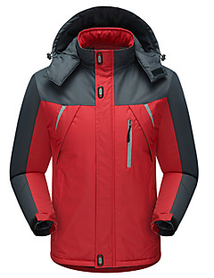 Hiking Softshell Jacket Unisex Waterproof / Breathable / Thermal / Warm / Windproof / Wearable NylonRed / Black /