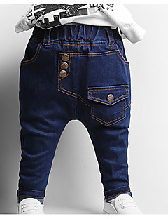 Boy Casual/Daily Print Jeans-Polyester Fall