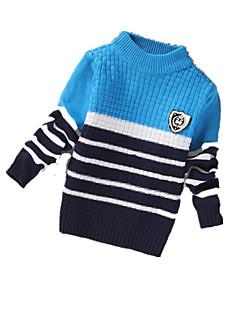 Menino de Suéter & Cardigan,Casual Color Block Cashmere / Lã Inverno / Primavera / Outono Azul / Vermelho / Amarelo