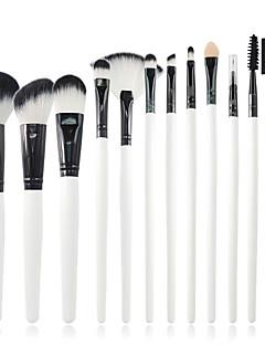 12 Brush Sets Synthetisch haar Professioneel / Draagbaar Hout Gezicht / Oog / Lip Overige
