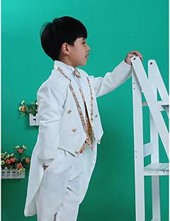 Polyester Oblek pro mládence - 5 Pieces Obsahuje sako / Tričko / Vesta / Kalhoty / pas / Motýlek