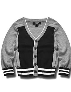 Jungen Pullover & Cardigan-Lässig/Alltäglich Einfarbig Baumwolle Winter / Frühling / Herbst Grau