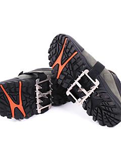 uzura FID în aer liber rezistent la zece dinți din oțel inoxidabil, pantofi de non-alunecare acoperi / lanț de crampon alpinism