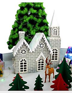 Prázdninové šperky Zelená / Bílá - červená - modrá Papír Cosplay doplňky Vánoce