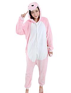 Kigurumi פיג'מות דְרָקוֹן פסטיבל/חג הלבשת בעלי חיים Halloween ורוד טלאים מינק הקטיפה Kigurumi ל יוניסקס / נקבה / זכרהאלווין (ליל כל