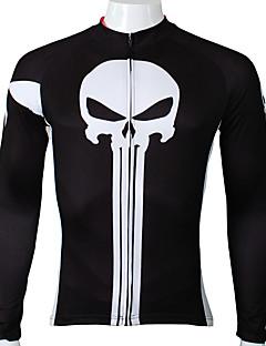 ILPALADINO Camisa para Ciclismo Homens Manga Longa Moto Camisa/Roupas Para Esporte Blusas Secagem Rápida Resistente Raios Ultravioleta