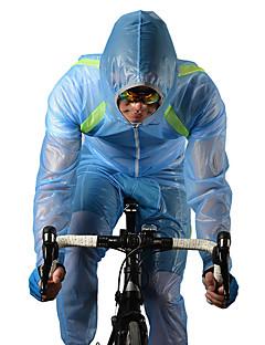ספורטיבי חולצת ג'רסי לרכיבה לנשים / לגברים / יוניסקס שרוול ארוך אופנייםעמיד למים / נושם / ייבוש מהיר / עמיד / מוגן מגשם / רוכסן עמיד למים