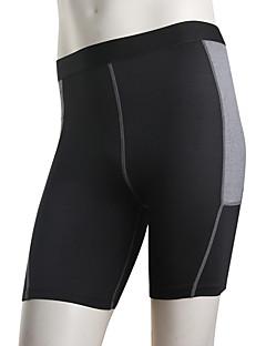 Homens Corrida Calças Leggings Secagem Rápida Antibacteriano Confortável Redutor de Suor Primavera Verão Outono InvernoTaekwondo
