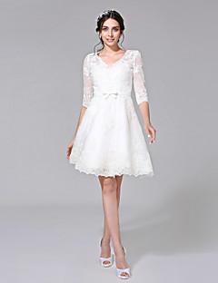 Knee-length, Wedding Dresses, Search LightInTheBox
