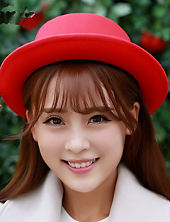 כובע קלושה\עם שוליים רחבים / כובע דלי נשים חמוד / מסיבה / יום יומי,כותנה חורף / קיץ