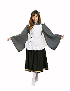 Maid Costumes Festival/Holiday Costumes Shirt / Skirt / Apron / Headwear Female Polyester