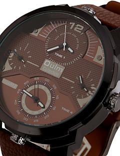 Pánské Sportovní hodinky Vojenské hodinky Hodinky k šatům Módní hodinky Náramkové hodinky Křemenný Hodinky s trojitým časem Barevná Punk