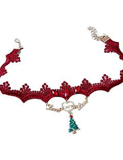 Prázdninové šperky Slitina Cosplay doplňky Vánoce
