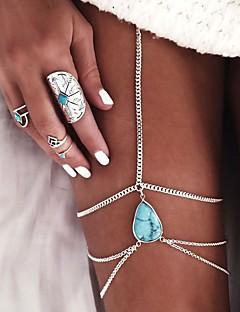 Γυναικεία Βραχιόλι αστραγάλου/Βραχιόλια Κράμα Ευρωπαϊκό Κρεμαστό Κοσμήματα Για Γάμου Καθημερινά Causal Παραλία