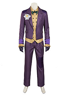 costumes cosplay / agam costume de clown d'asile cosplay / halloween costumes faits sur commande