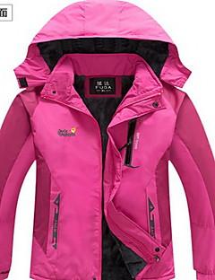 Trilha Blusas Mulheres Impermeável / Mantenha Quente / A Prova de Vento / Isolado / Confortável Outono / Inverno TeryleneVerde / Vermelho