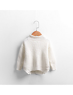 Boy Casual/Daily Solid Sweater & Cardigan,Cotton Winter / Fall Long Sleeve Regular