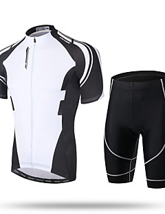 XINTOWN Cycling Jersey with Shorts Men's Short Sleeve BikeBreathable Quick Dry Ultraviolet Resistant Moisture Permeability High