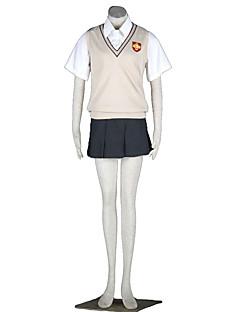 Toaru Kagaku no Railgun Cosplay Costumes Vest / Skirt / Shirt Kid