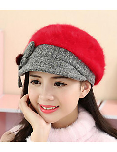 Žena Králičí kožešina Na běžné nošení podzim / Zima Zvonovitý klobouk