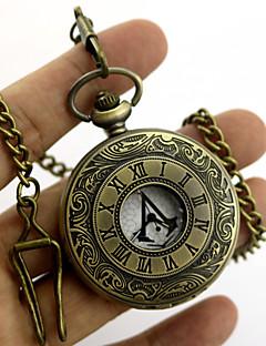 Clock/Watch Inspirirana Ubojica Conner Anime / Video Igre Cosplay Pribor Ogrlice / More Accessories Zlatna / Srebrna Metal Unisex
