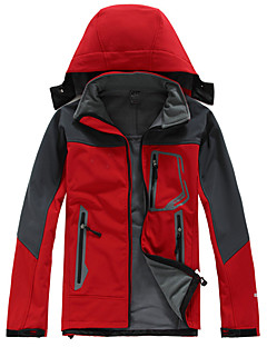 Turistika Bundy na lyže/snowboard / Softshellové bundy PánskéVoděodolný / Prodyšné / Zahřívací / Rychleschnoucí / Větruvzdorné / Odolný