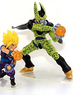 Anime Čísla akce Inspirovaný Dragon Ball Son Gohan Anime Cosplay Doplňky postava Zielony PVC