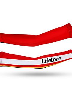 Arm ulkoiluun Pyörä Pidä lämpimänä Protective Kevyet materiaalit Mukava Unisex Punainen Teryleeni
