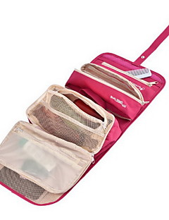 1 L Toaletní taška cestování Outdoor Multifunkční Žlutá Zelená Červená Modrá Terylen Others