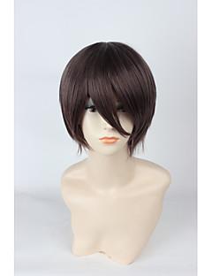 Cosplay Wigs Cosplay Cosplay Brown Short Anime Cosplay Wigs 35 CM Heat Resistant Fiber Unisex