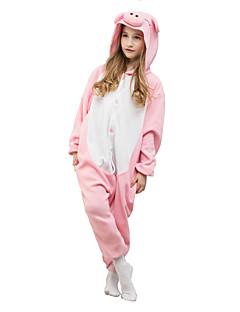 eef172ac5b8 Kigurumi Πυτζάμες Γουρουνάκι/Γουρούνι Φορμάκι/Ολόσωμη φόρμα  Γιορτές/Διακοπές ζώο Πυτζάμες Halloween Ροζ