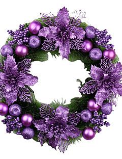 Prázdninové šperky Fialová PVC Cosplay doplňky Vánoce
