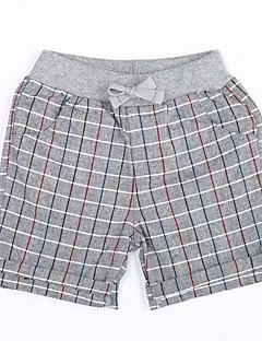 Dreng Shorts Casual/hverdag Houndstooth-Bomuld Sommer