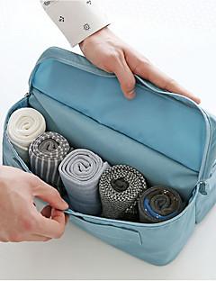 2 L Toaletní taška cestování Outdoor Voděodolný zip Růžová Modrá Tmavě modrá Oranžová Látka Others