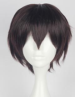 Cosplay Wigs Cosplay Cosplay Brown Short Anime Cosplay Wigs 35 CM Heat Resistant Fiber Male